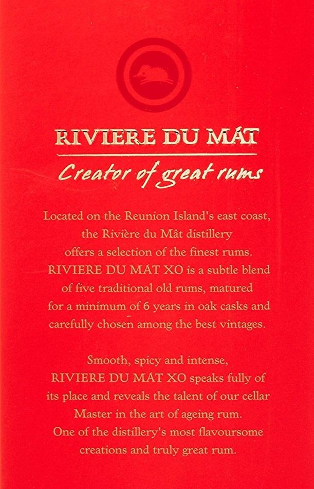 Rivière du Mât XO's case